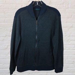 PERRY ELLIS Navy Blue Sweater Size Medium